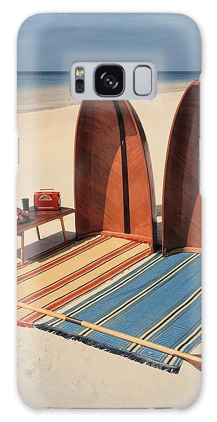 Pixie Collapsible Boat On The Beach Galaxy Case
