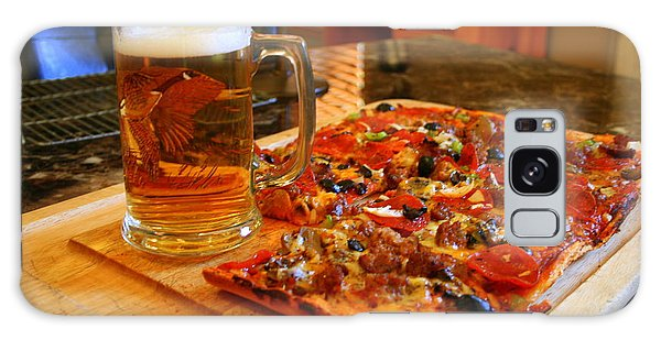 Pizza And Beer Galaxy Case