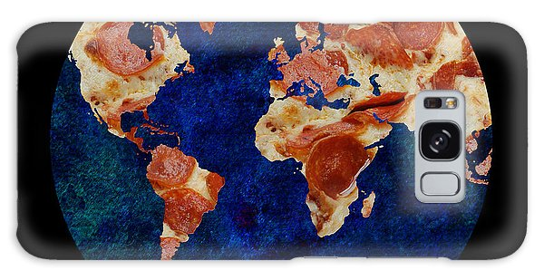 Pizza World Galaxy Case by Andee Design