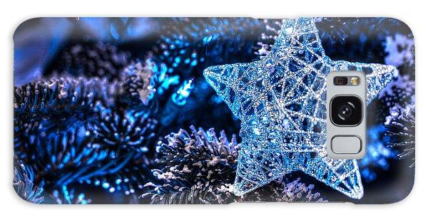 Blue Christmas Galaxy Case