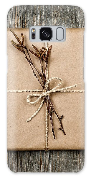 Rustic Galaxy Case - Plain Gift With Natural Decorations by Elena Elisseeva