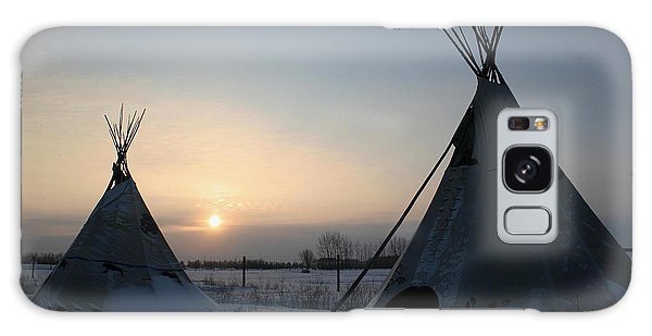 Plains Cree Tipi Galaxy Case
