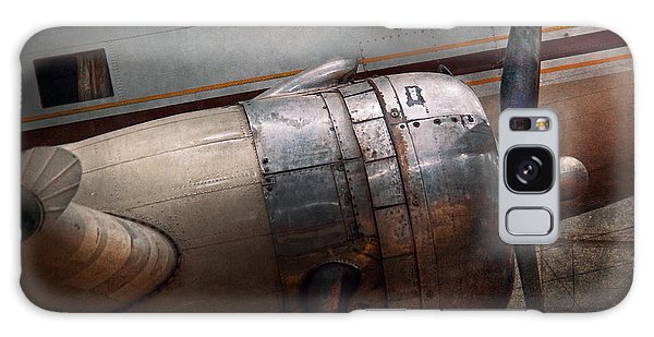 Plane - A Little Rough Around The Edges Galaxy Case by Mike Savad