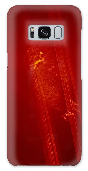 Plane Signature In Red 3 Galaxy Case
