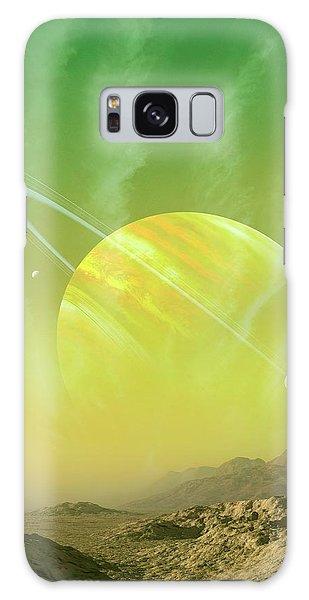 Scientific Illustration Galaxy Case - Planet Around Upsilon Andromedae by Mark Garlick