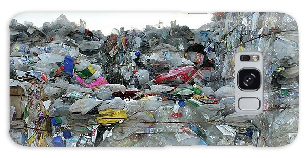 Recycle Galaxy Case - Plastic Waste At Recycling Centre by Robert Brook/science Photo Library