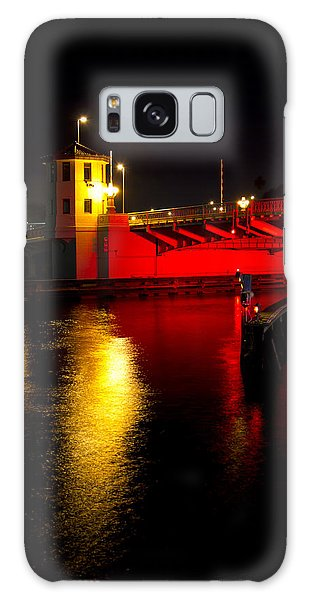 Platt Street Bridge Galaxy Case