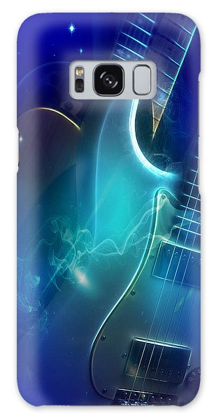 Play Them Blues Galaxy Case