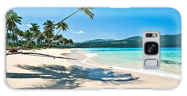 Playa Rincon Galaxy Case by Renee Sullivan