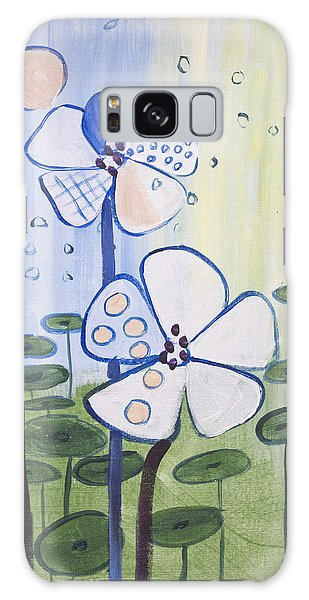 Playful Daisies  Galaxy Case