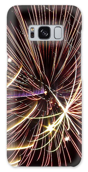 Playin With Fireworks Galaxy Case