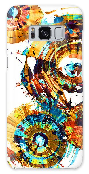 Playing In The Wind 1000.042312 - Popart-1 Galaxy Case by Kris Haas