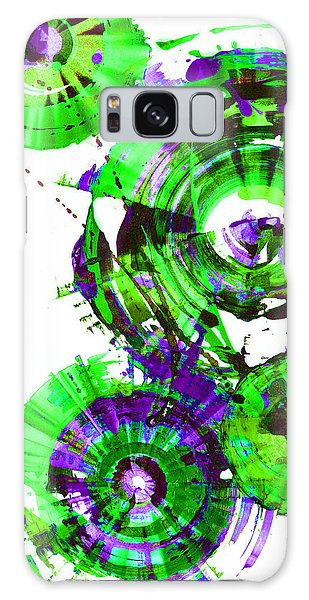 Playing In The Wind 1000.042312 - Popart-2 Galaxy Case by Kris Haas