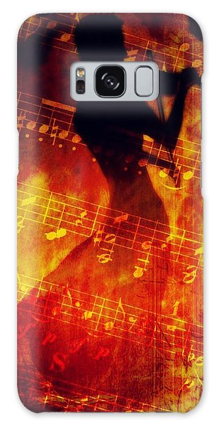 Playing Just For You Galaxy Case by Gun Legler
