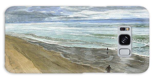 Playing On The Oregon Coast Galaxy Case by Ian Donley