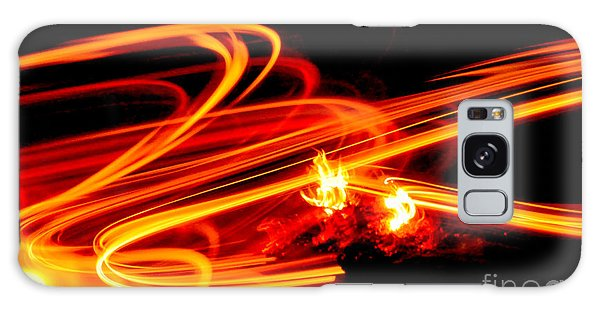 Playing With Fire 4 Galaxy Case