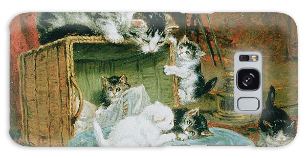 Brothers Galaxy Case - Playtime by Henriette Ronner-Knip