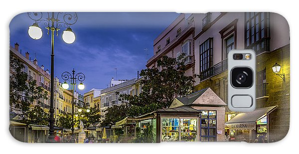 Plaza De Las Flores Cadiz Spain Galaxy Case by Pablo Avanzini
