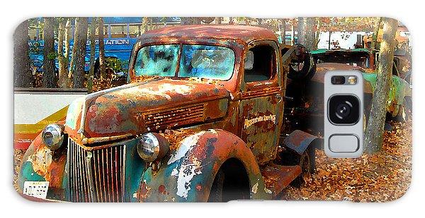 Pleasantville Speedway Tow Truck Galaxy Case by K Scott Teeters