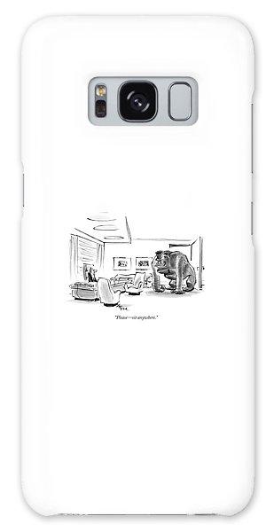 Gorilla Galaxy S8 Case - Please - Sit Anywhere by Lee Lorenz