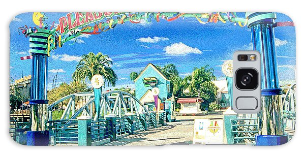 Galaxy Case - Pleasure Island Sign And Walkway Downtown Disney by A Gurmankin