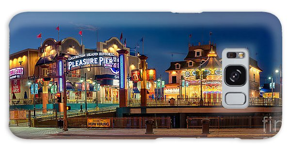 Pleasure Pier Galaxy Case