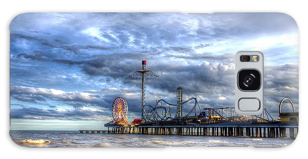 Pleasure Pier Galveston Galaxy Case