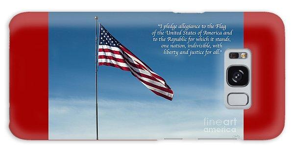 Pledge Of Allegiance Galaxy Case