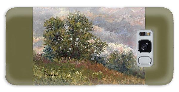 Outdoors Galaxy Case - Plein Air - Near The Chicopee River by Lucie Bilodeau