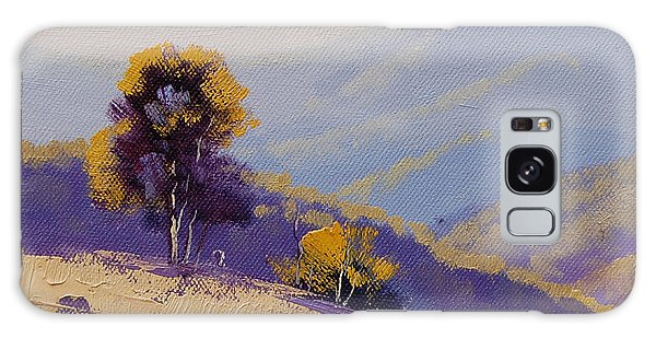 Rural Scenes Galaxy S8 Case - Plein Air  Study by Graham Gercken