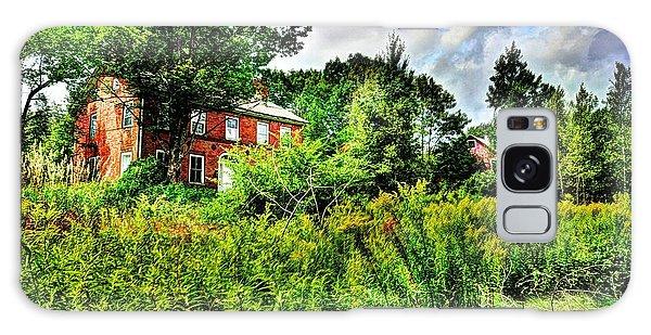 Plott Road Farmhouse Galaxy Case
