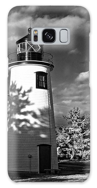 Plum Island Light 01 Galaxy Case