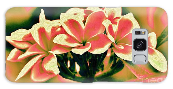 Plumeria - A Different View Galaxy Case by Craig Wood