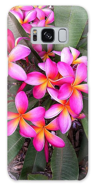 Plumeria Bouquet  Galaxy Case