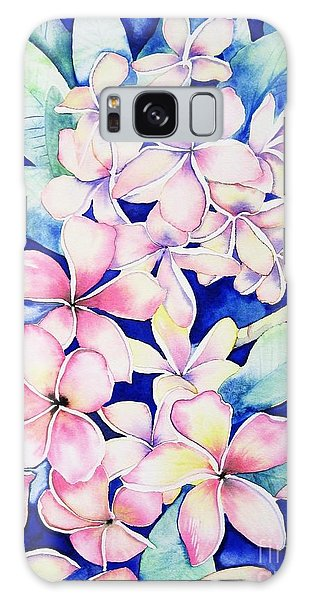 Plumerias Of Maui Galaxy Case