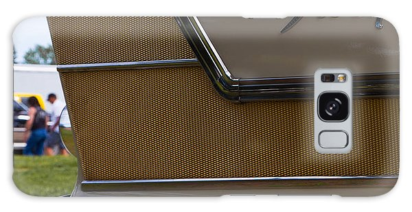 Plymouth Fury Tail Fin Detail Galaxy Case by Mick Flynn