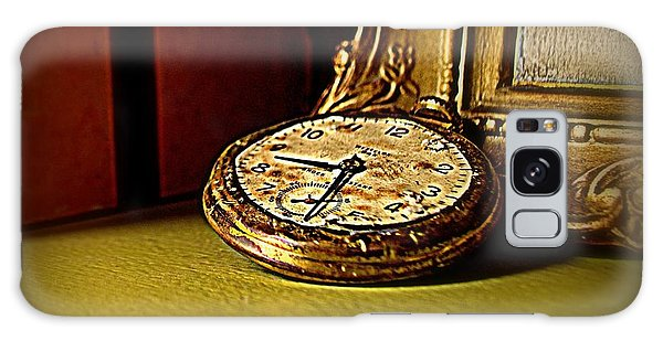 Pocket Watch Galaxy Case by Guy Hoffman