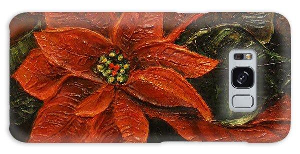 Poinsettia 2 Galaxy Case