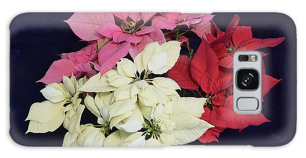 Poinsettia Tricolor Galaxy Case