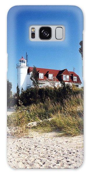 Point Betsie Lighthouse Galaxy Case