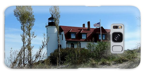 Point Betsie Lighthouse Galaxy Case