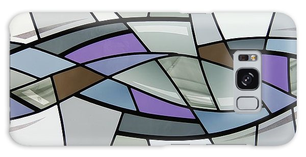 Point Grey Abstract Galaxy Case by Gilroy Stained Glass