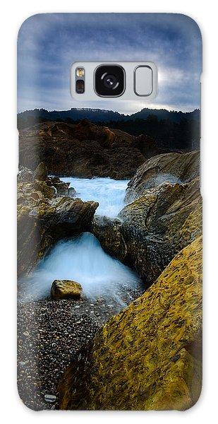 Point Lobos Big Sur Sea Arch Galaxy Case