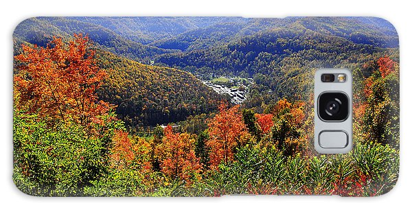 Point Mountain Overlook In Autumn Galaxy Case