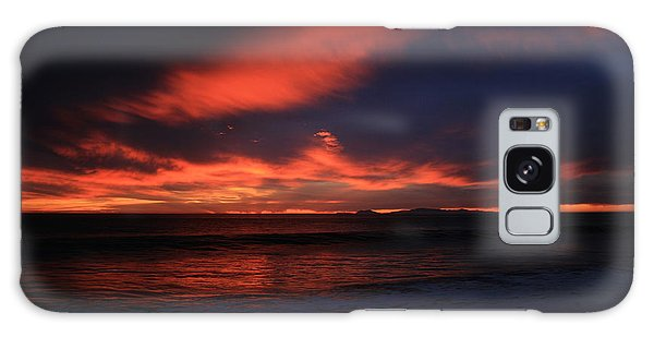 Point Mugu 1-9-10 Just After Sunset Galaxy Case by Ian Donley