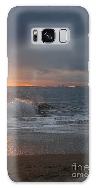Point Mugu 1-9-10 Sun Setting With Surf Galaxy Case by Ian Donley