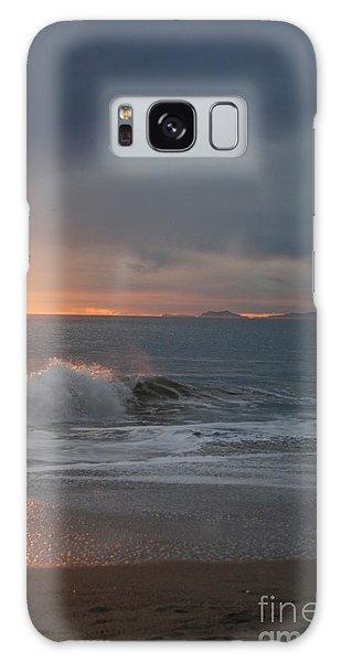 Point Mugu 1-9-10 Sun Setting With Surf Galaxy Case by Ian Donley