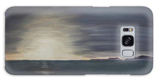 Point Mugu Sunset Galaxy Case by Ian Donley