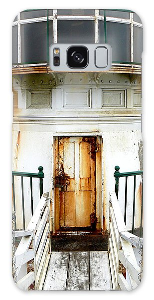 Point Reyes Historic Lighthouse Galaxy Case by Laurel Powell