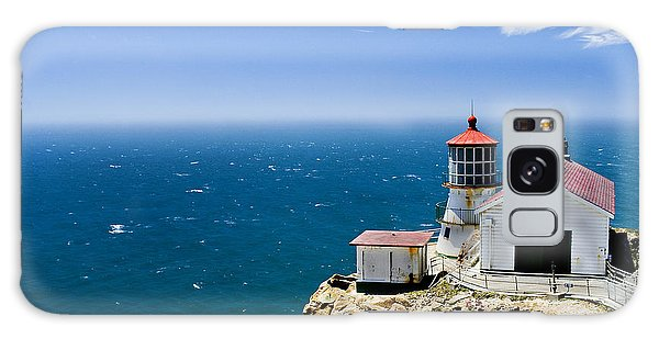 Point Reyes Lighthouse California Galaxy Case